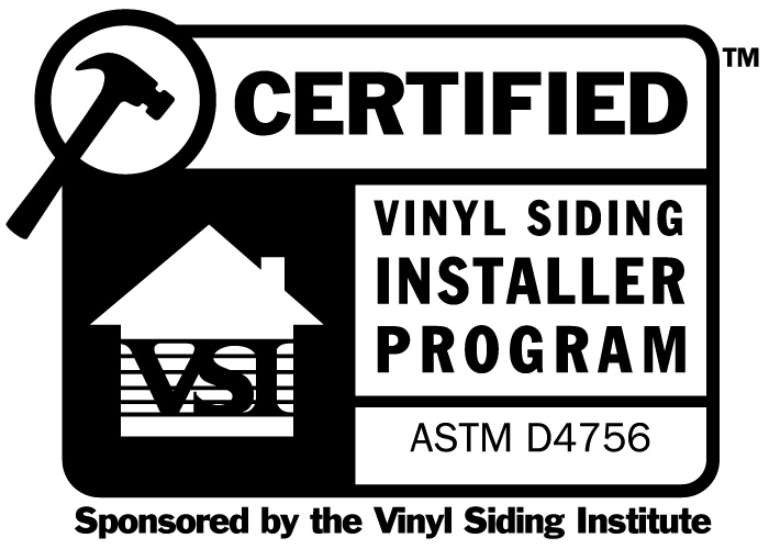 VSI Certified Installer Program Logo | Siding Installation Wentzville